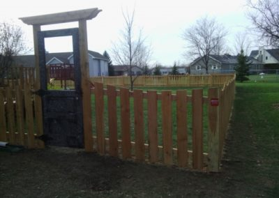 Wood-fence-custom-wood-gate